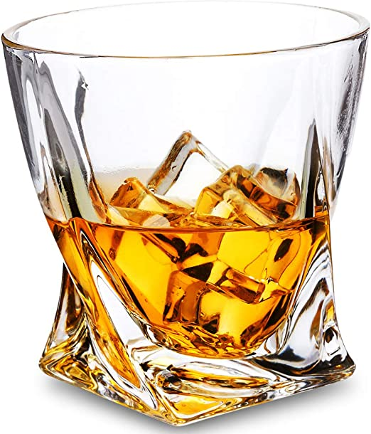 Whiskey Glass Fashion Clear Whiskey Tumbler Rock Glass Tasting Glass Whiskey Cup