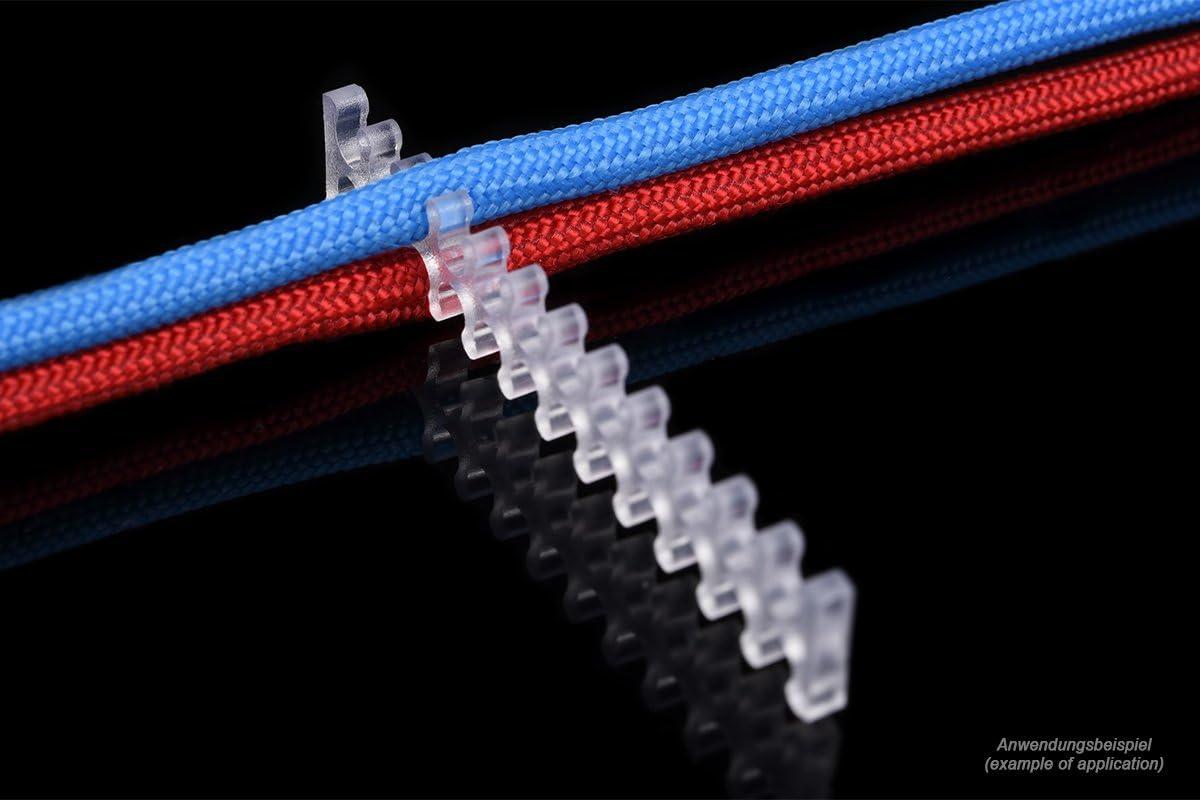 Alphacool 24748 Eiskamm X24-3mm Clear 2 pcs Modding Eiskamm