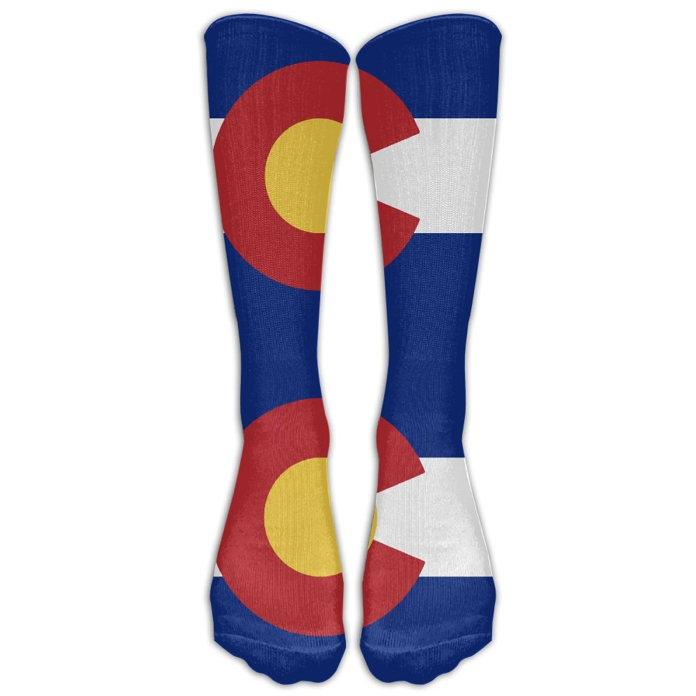 SVVOOD Unisex Flag Of Colorado Athletic Sock Stocking Socks