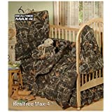 Realtree Max-4 Camo - 6 Piece Crib Set