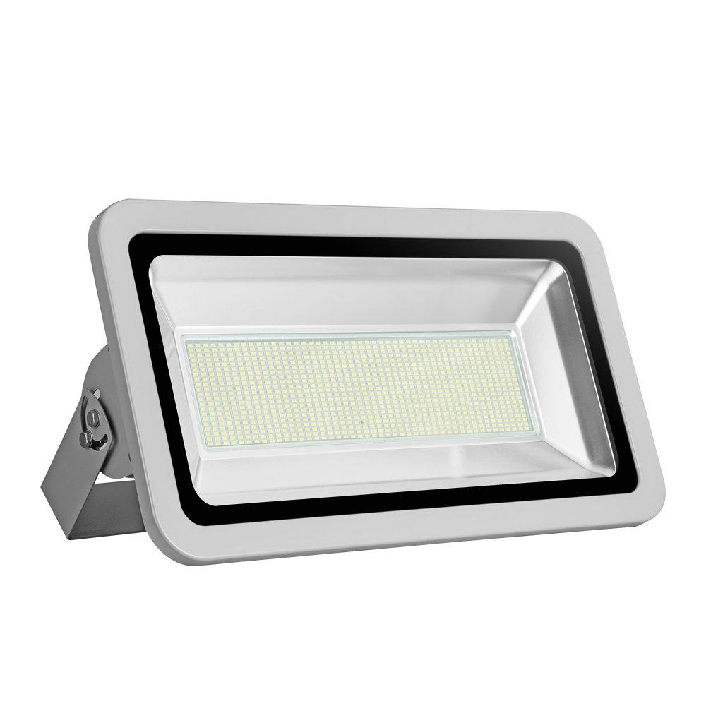 Foco proyector LED 20W/30W/50W/100W/150W/200W/300W/500W/800W para exteriores, 1000LM-56000LM, Blanco frio 6000-6500K resistente al agua IP65, luz amplia, luz de seguridad Floodlight (100) [Clase de eficiencia energética A+] HimanJie
