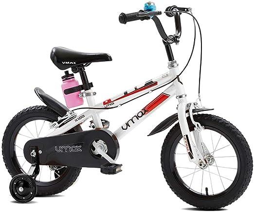 GAIQIN Durable Bicicleta para niños Bicicleta para niños 3-4-6-8 ...