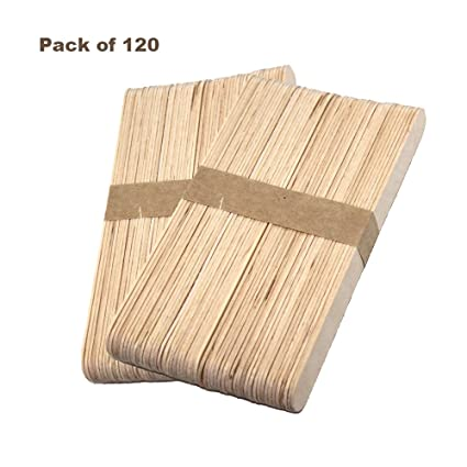 200pcs wooden disposable popsicle sticks food grade for beicemania popsicle molds