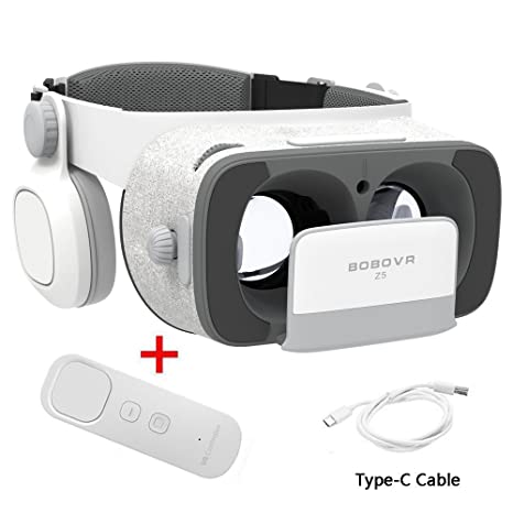 9493b16c68ac BOBOVR Z5 Gyroscope Virtual Game Headset Upgraded with Adjustable Elastic  Band