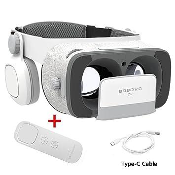 BOBOVR Z5 Pro 3D VR gafas Realidad Virtual con Auriculares Headset Gafas para Ver 3D Películas
