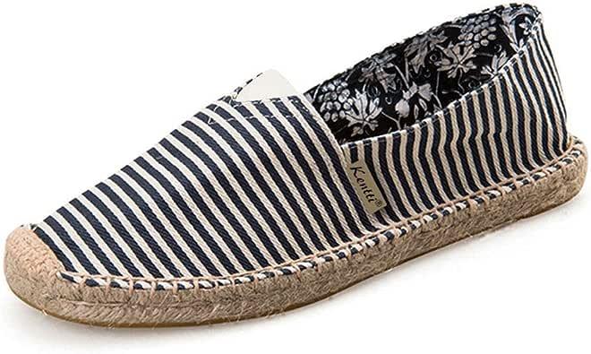 Kentti Alpargatas de Rayas Marinero Para Hombre: Amazon.es: Zapatos y complementos