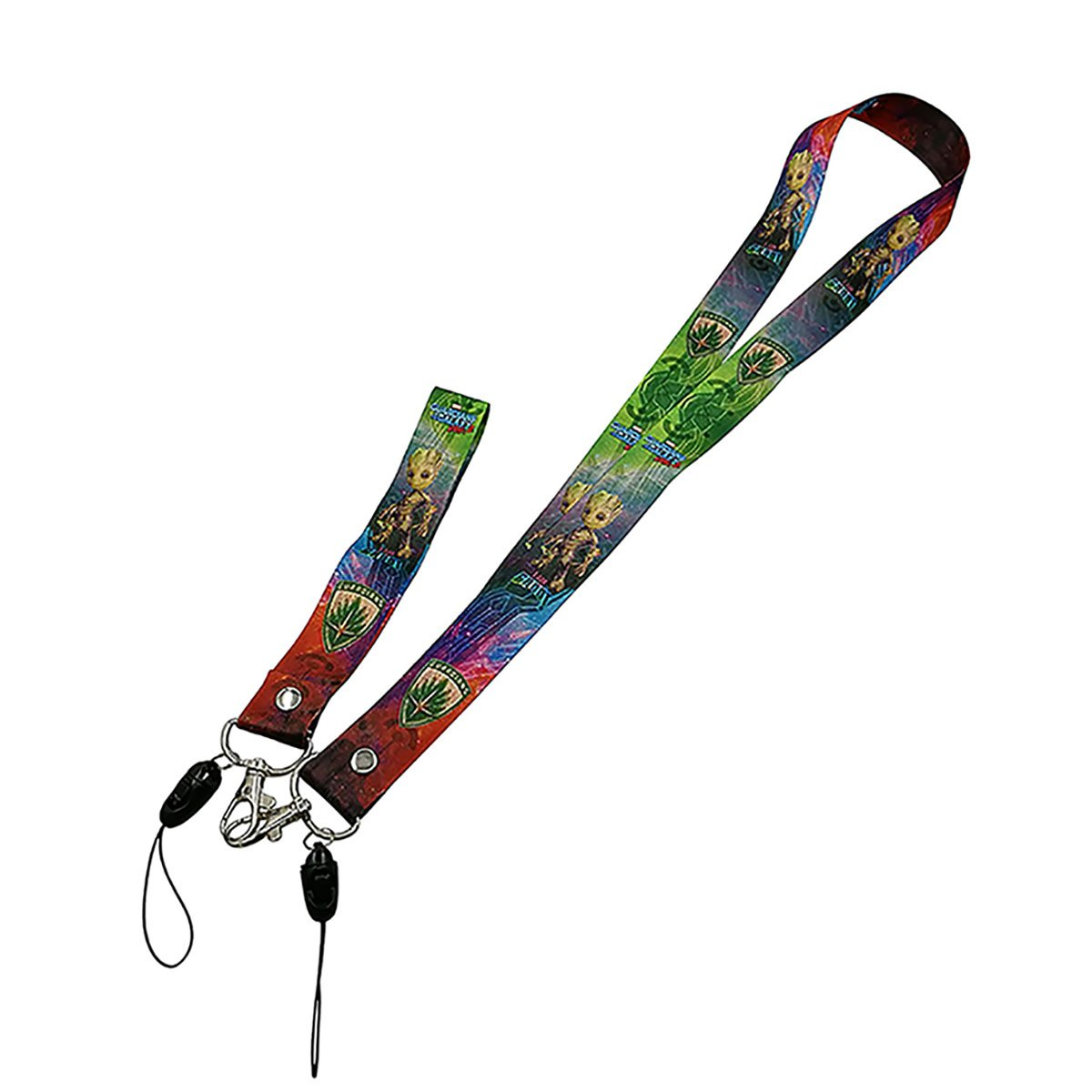 Guardians of The Galaxy Groot Lanyard with Groot baby wristband for security badges, ID's, keys, etc ID' s Tvoj poklon