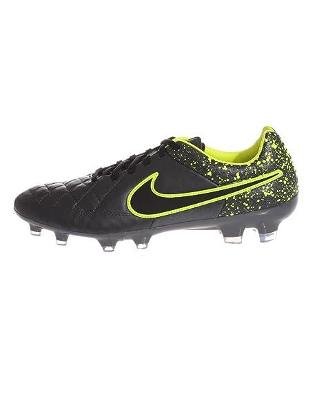 sale retailer ff458 6994a Nike Tiempo Legacy FG, Botas de Fútbol para Hombre, Negro Verde (Anthracite  Black-Volt), 45 EU  Amazon.es  Zapatos y complementos