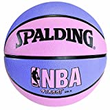 NBA Street Basketball - Pink & Purple - Intermediate Size 6 (28.5')