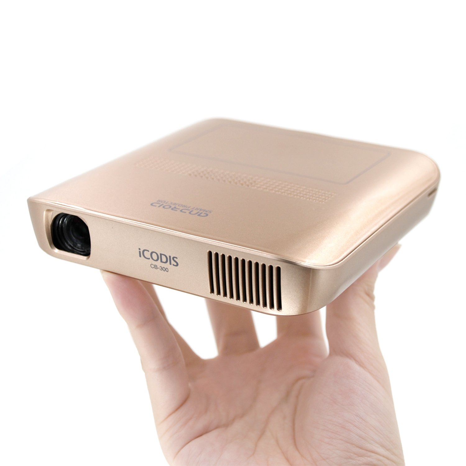 iCODIS CB-300 Pico Projector 3D HD Video with DLP 1800 Lumen, Mini HDMI,30,000 Hour Led Life, Mobile Pocket Movie and Entertainment Home Theater