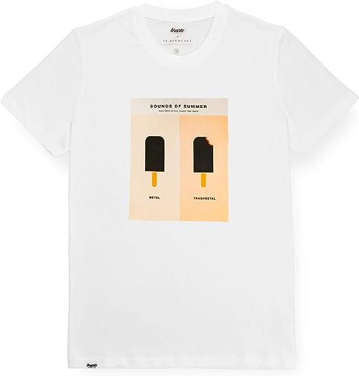 Brava Fabrics | Camiseta Hombre Manga Corta | Camiseta Blanca ...