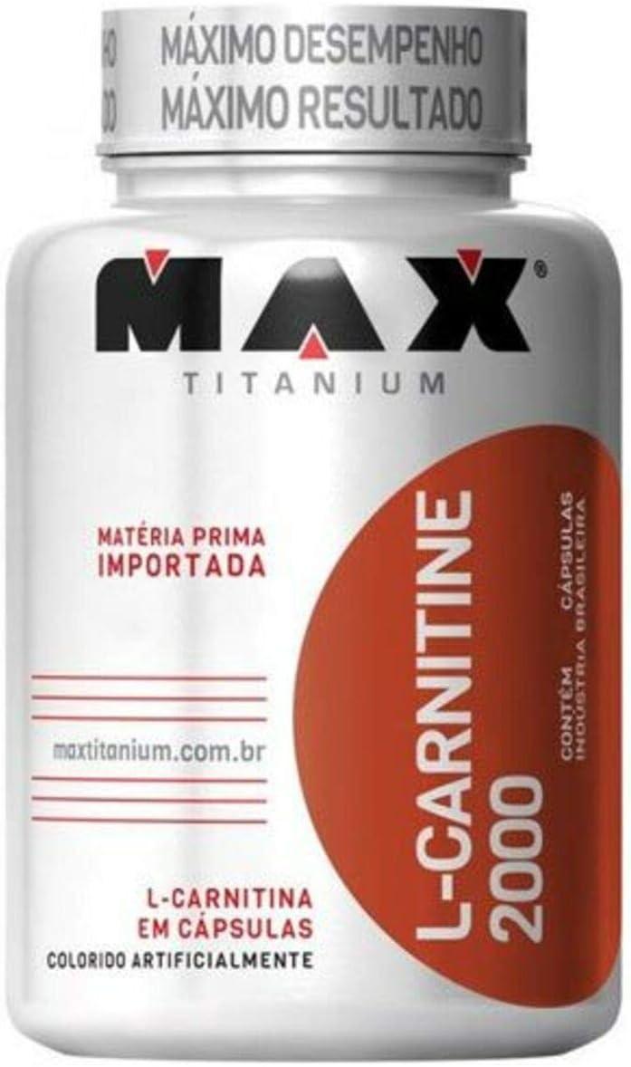 L-Carnitine 2000 (60 Caps), Max Titanium