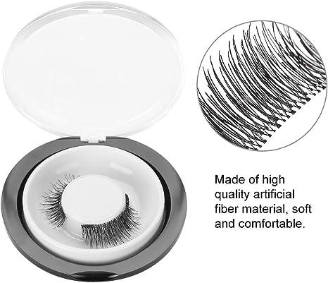 occhi accattivanti ciglia finte Donna ciglia finte 3D riutilizzabili senza ciglia Ciglia finte naturali fatte a mano ultrasottili Ciglia nere Ciglia 3D lunghe e intrecciate ciglia magnetiche