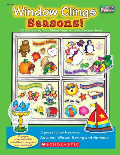 Window Clings Seasons!