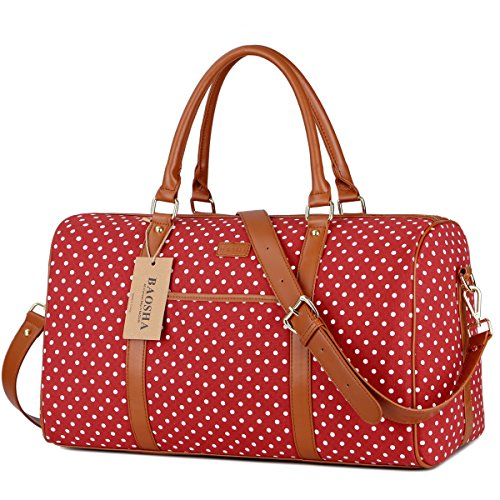 Red Leather Duffle Bag - 7
