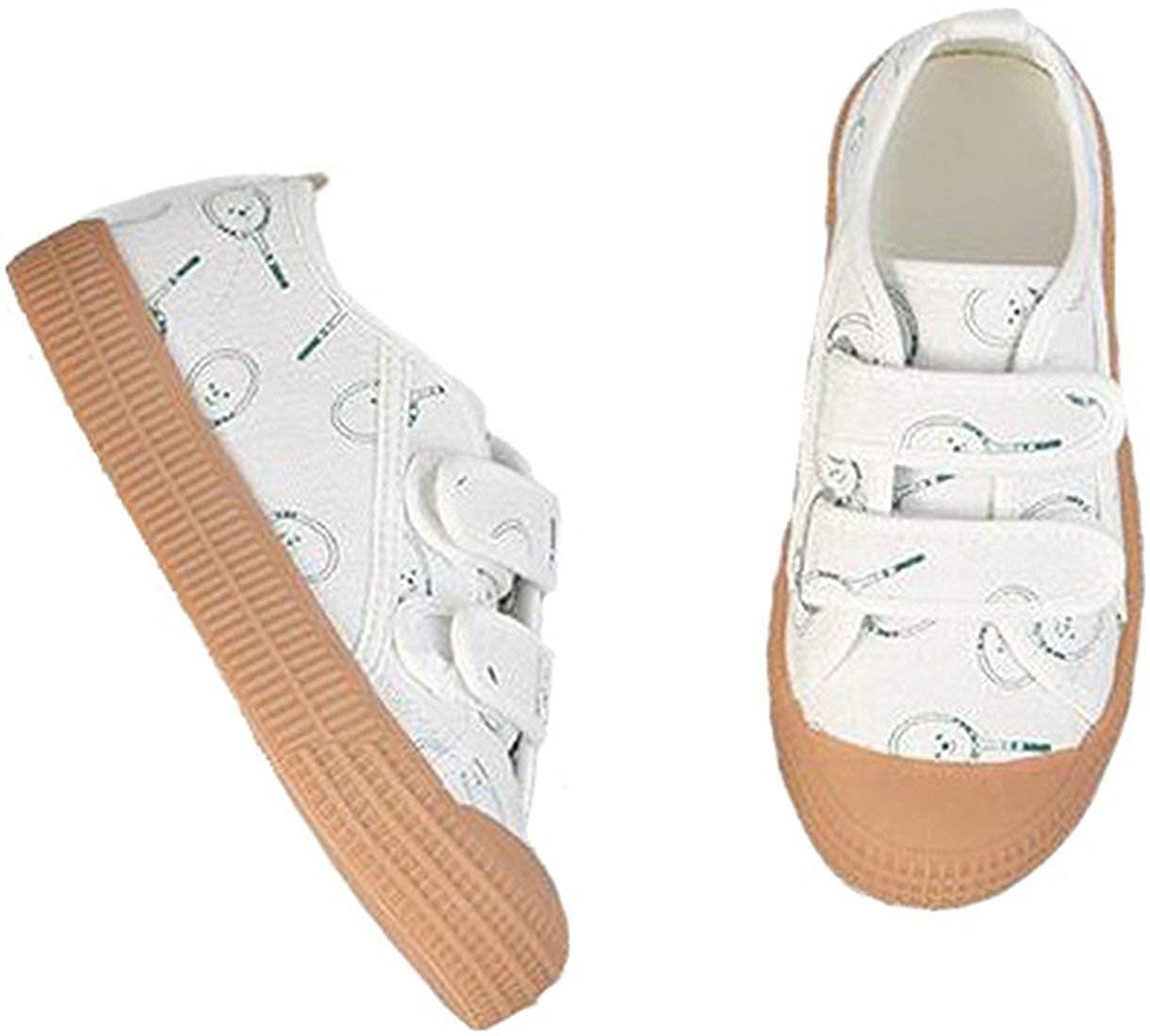 Girls Boys Students Canvas Casual Shoes Running Sport Sneakers