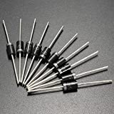 ILS - 10 pieces SB5100 5.0A SCHOTTKY BARRIER Diode 100V 5A