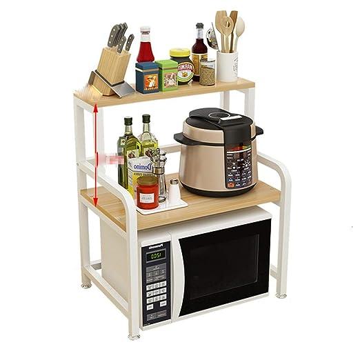 Estante de cocina Horno Horno De Microondas Estante De 2 ...