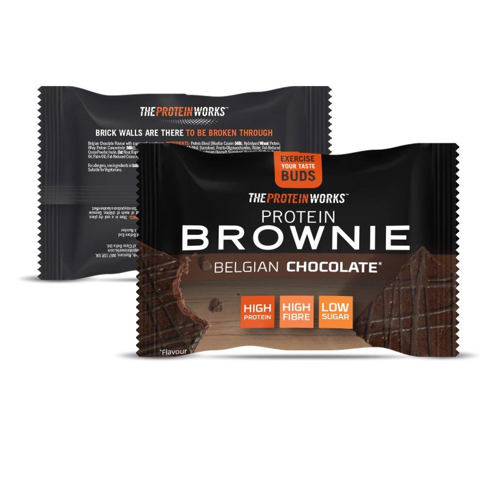 The Protein Works Brownies Proteicos - 12 Unidades: Amazon.es: Salud y cuidado personal