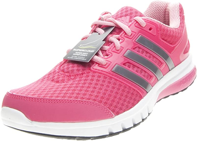 adidas Galaxy Elite 2 Running para Mujer Trainer Zapatos Rosa/Blanco, Color Rosa, Talla 43 1/3 EU: Amazon.es: Zapatos y complementos
