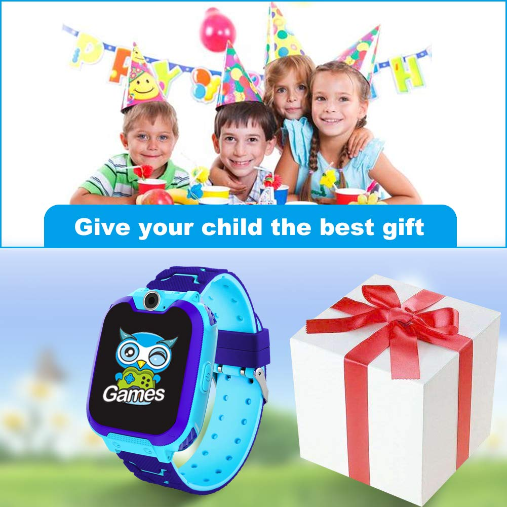 HuaWise Kids Smartwatch [SD Card Included], 1.54 inch Colorful Touch Screen Smartwatch for Children with Quick Dial, Camera and Music Player,Calculator and Alarm for Boys and Girls(NOT Support AT&T) by HuaWise (Image #7)