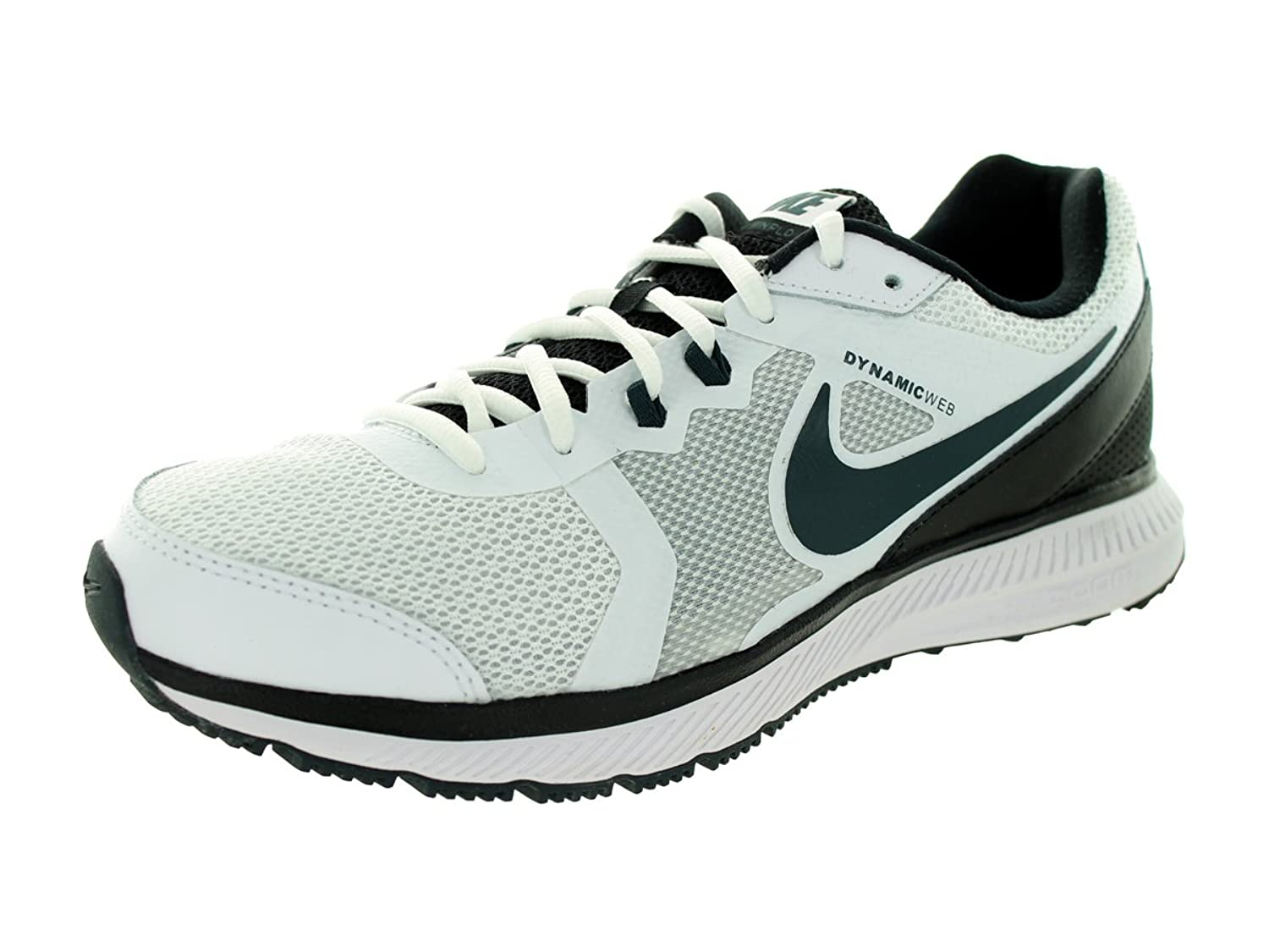 Nike Men s Zoom Winflo Running Shoe White/Black/Classic Charcoal 8.5 D(M)  US: Buy Online at Low Prices in India - Amazon.in
