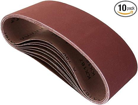 915x100mm Sanding Belts 60-400 Grits Abrasive Band for Sander Power Sandpaper