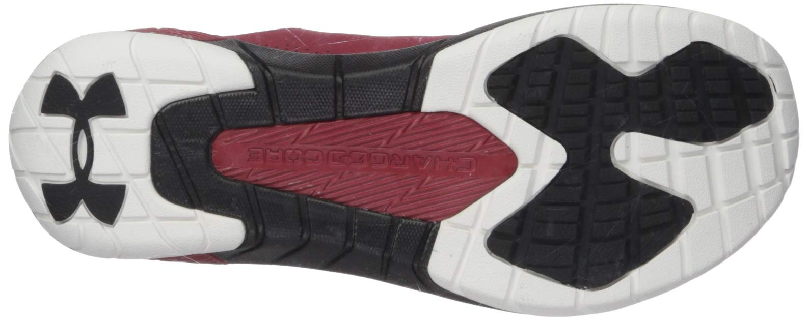 Under Armour Men's Commit TR EX Sneaker, Aruba Red (600)/Black, 7 M US by Under Armour (Image #3)