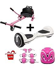 Hiboy - Sitzscooter Kart Sitz für Elektrokart Self Balancing Scooter Kompatibel mit Allen 6,5, 8 und 10 Zoll