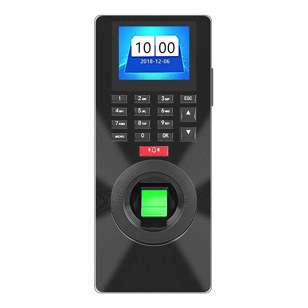 Amazon com: ASHATA Biometric Fingerprint Password Attendance