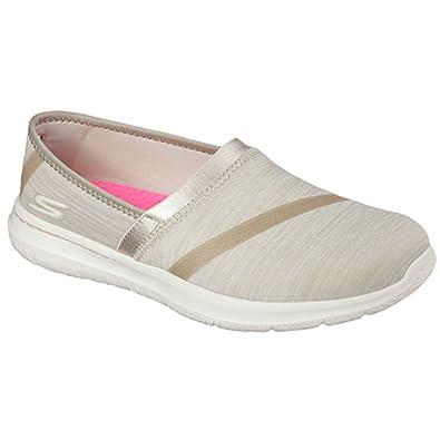 6ced0935a3c8 Skechers Womens Stone Beige Go Walk City Limits Shoes  13745  - UK 4 ...