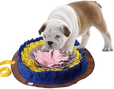 Rainai - Alfombra para Perros de cocodrilo, Redonda, Lavable, de Entrenamiento, con Piedra, Manta, Animal doméstico, Juego, alentador, Natural, forraje, Habilidad, Mate: Amazon.es: Productos para mascotas