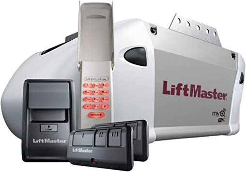 Liftmaster 8365w 267 Premium Garage Door Opener Chain Drive Wifi 1 2 Hp No Rail Amazon Com