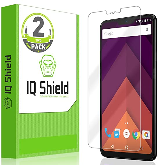 [2-Pack] IQ Shield LiQuidSkin Clear Screen Protector for LG G7 ThinQ Bubble  Free Film [LG G7+ ThinQ Compatible]
