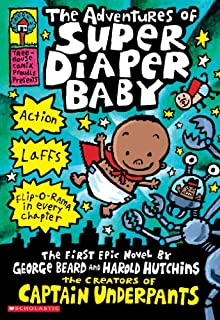 Book Cover: The Adventures of Super Diaper Baby