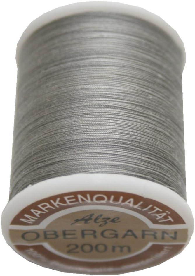 Máquina de coser (exterior de hilo algodón 50/3 200 m gris (0930 ...
