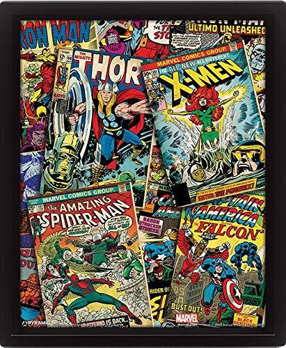 Marvel Comics colección Montaje del Cartel de Movimiento ...