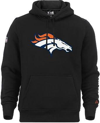 New Era - NFL Denver Broncos Team Logo Hoodie - Schwarz Farbe Black  Amazon. co.uk  Clothing 7ffb9e4d5