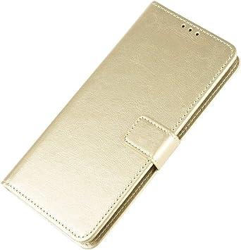 HAOYE Funda para Samsung Galaxy Note 10 Lite Funda, Carcasa Libro de Cuero PU Tapa Billetera con Ranuras de Tarjeta Cierre Magnético Soporte, Protección Case Cover con Correa Cordel, Oro: Amazon.es: Electrónica