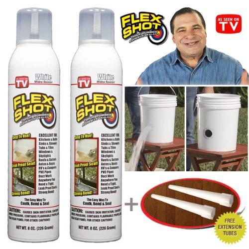 Top 4 flex shot white caulk waterproof