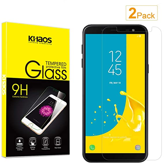 half off 260d3 98cae Amazon.com: for Samsung Galaxy A7 2018 Screen Protector, [2-Pack ...