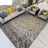Rug Carpet color Living room carpet Washed carpet Carpet wear-resistant Nordic carpet160230cm-A 63x91inch(160x230cm)