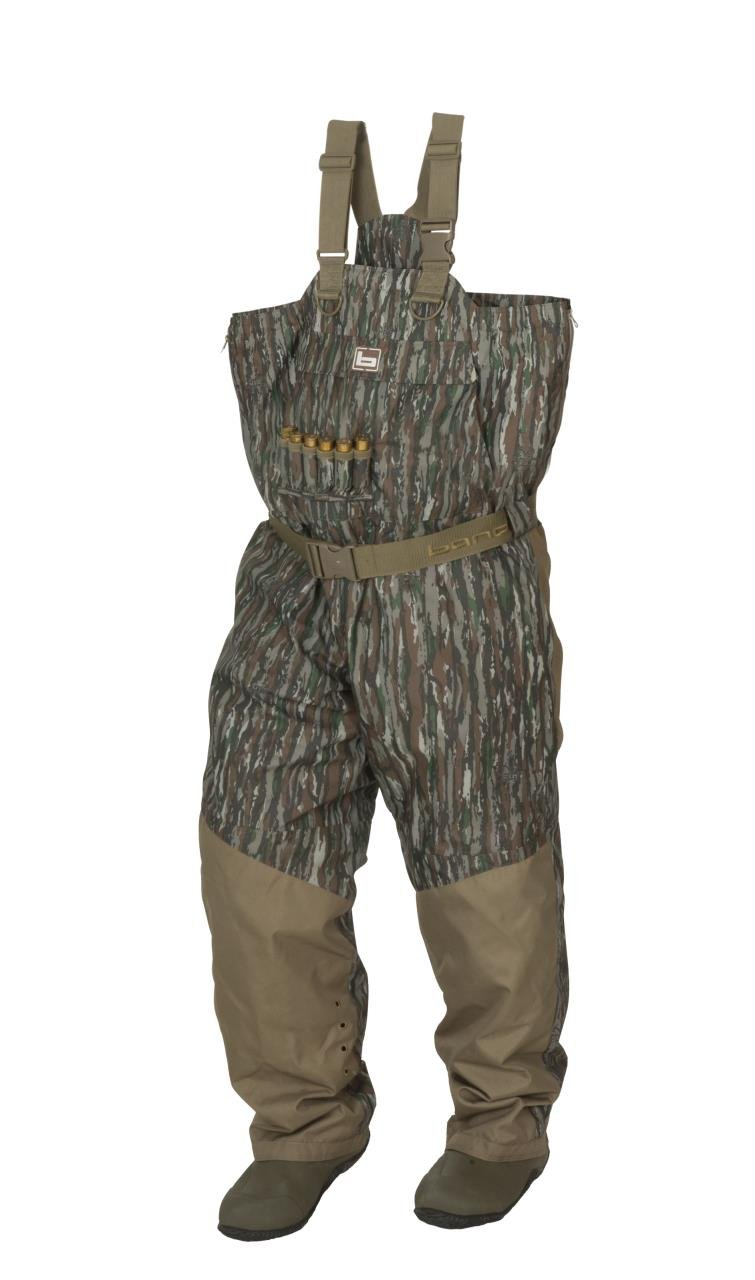 NEW BANDED REDZONE BREATHABLE INSULATED CHEST WADERS NATURAL GEAR CAMO SIZE 9