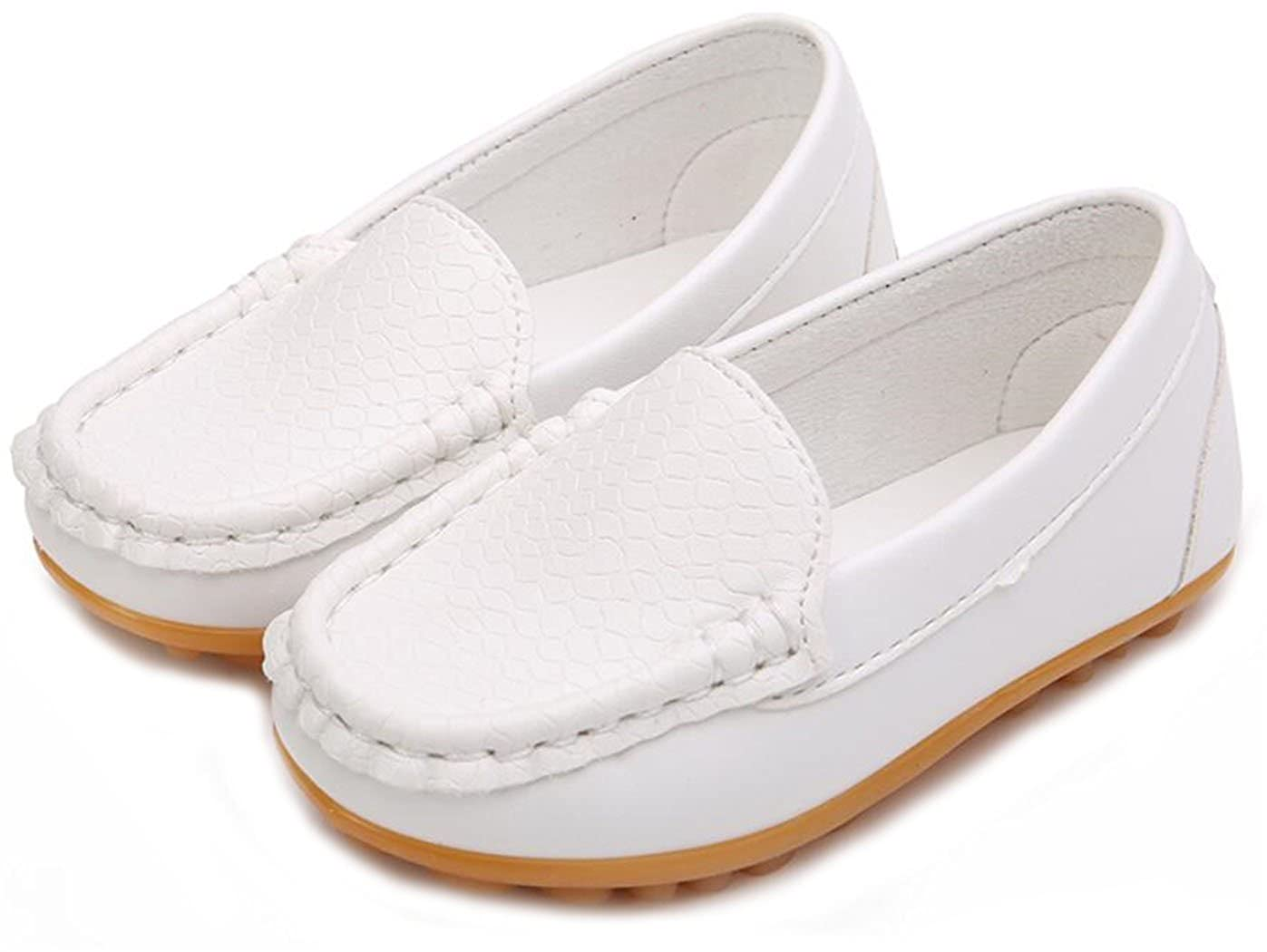PPXID Boys Girls Soft Footwear Slip-On Loafers Oxford Shoes F0471