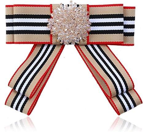CCJIAC Broches de Lazo Camisa de Corbata de Mujer Broche de Lazo ...