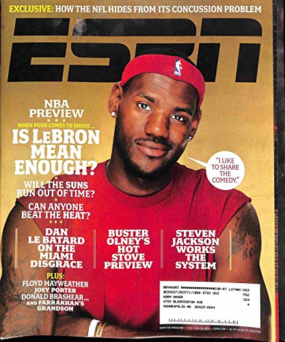 ESPN Magazine, November 6, 2006