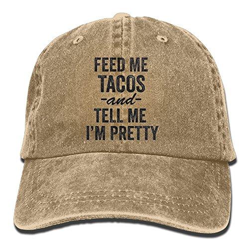 MNBHat Feed Me Tacos Snapback Cotton Cap - Snapback Me Feed