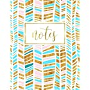Notes: Coral Pink Notebook with White, Ivory, & Champagne Peackock Feathers with Gold Pattern & Designs (Notebook, Journal, Diary, Planner, & Bullet List Series) (Volume 9)