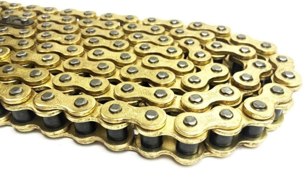 Motorcycle Drive Chain 520-112 Gold for Pulse Adrenaline 250