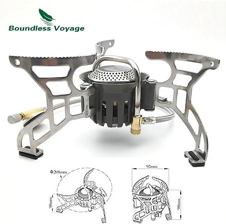 Plegable Gas Stove – Hornillo de gas para cocinar al aire ...